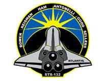 Sympol vom Flug: STS-132