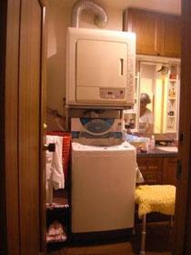 ■洗面と洗濯室ビフォー