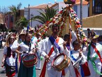Dia de Canarias auf den kanarischen Inseln