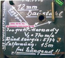 Die originale 12mm Baustahlplatte!