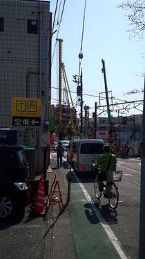 東急大井町線荏原町駅前の再開発