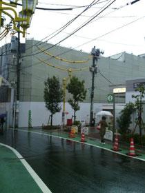 東急大町線荏原町駅前、再開発