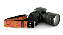 "Hibiscus Sun 1.5"" Camera Strap"