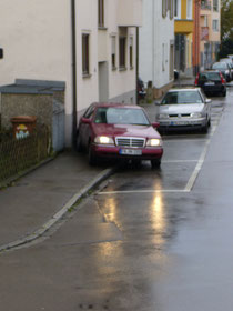 Einparkhilfe