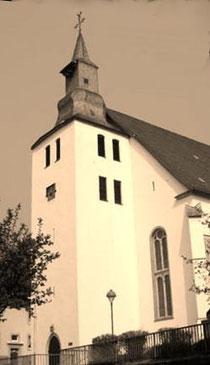 Die Lutherkirche in der Stadtmitte
