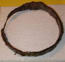 Eisenring mit Innendurchmesser 17,5 cm.