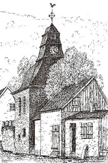 Zeichnung von Fritz Emde