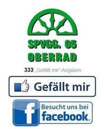 """Spvgg.05 Oberrad auf Facebook """"Gefällt mir"""""""
