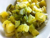 Salada de Aboborinha:アボブリンニャのサラダ
