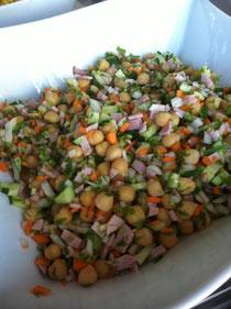 Ervilha de pintinho:ひよこ豆(Garbanzo:ガルバンゾー)のサラダ