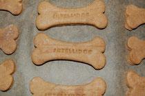 Hunde mögen diese Kekse auch!