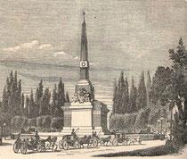 Fuente Castellana grabado siglo XIX