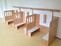 Montage einer Kindertagesstätteneinrichtung