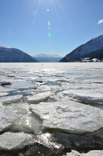 the frozen Fjord