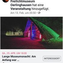 Märchen erzählen im archäologischen Freilichtmuseum Oerlinghausen