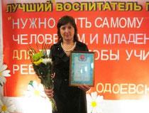 Победитель конкурса  Паньковская М.Н