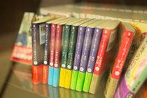 2012年7月より刊行されたハリー・ポッターシリーズの文庫版は2013年2月に完結