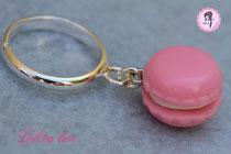 Bague Macaron Forever rose