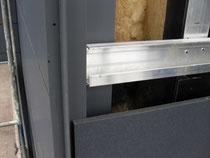 Detail Befestigung Faserzementplatten