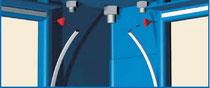 Уплотнитель угловых стоек Containex