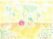 初めてのパステル画の画像