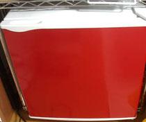 赤い冷蔵庫さん