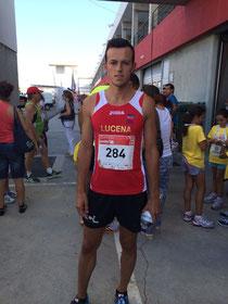 Romero Cruces, momentos antes de la prueba.
