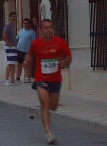 Miguel Álvarez, vencedor de la prueba local.