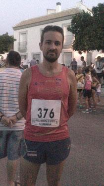 En la imagen el ateta del Club Maratón Lucena, Ángel Caballero.