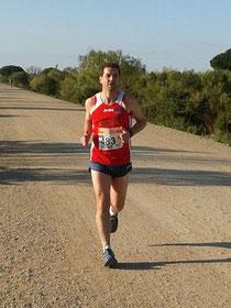 Rafa Valverde, en un momento de la prueba.