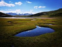 Fjordlandschafts Lac de Nino