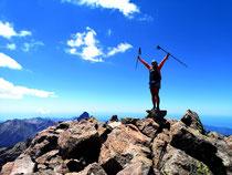 Höchster Gipfel in Korsika, Monte Cinto 2706m.