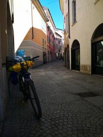 Mein Bike in Mendrisio