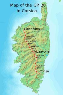 Gr 20 - Korsika