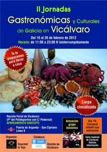 Jornadas Gastonómicas Galicia Vicálvaro