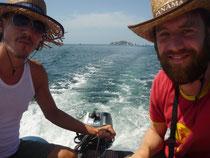 Mit dem Dinghi auf Entdeckungsreise in den Las Perlas