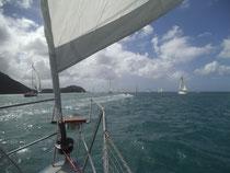 Wir verlassen St. Lucia