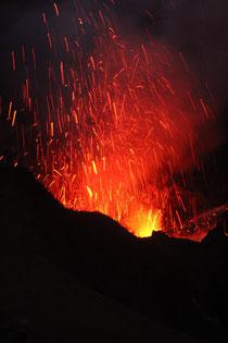 Aktiver Vulkan auf Tanna