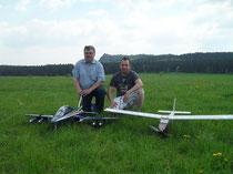 Willkommen auf der privaten  Homepage von        Reiner und Thomas Oelschläger.         Modellflieger aus Blankenburg Harz