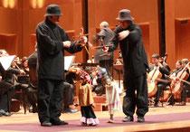 Función de Hilos Mágicos con la Orquesta Filarmónica de Bogotá en el Teatro Julio Mario Santodomingo
