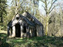 Chapelle Saint-Antoine, en forêt d'Andaine, Normandie, Orne