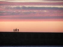 Aus Abendhimmel mach Morgensonne