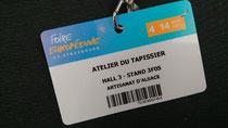 Je vous donne rendez-vous à la Foire Européenne de Strasbourg.