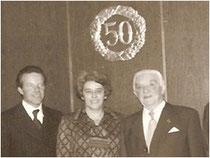 1972: Übernahme der Verantwortung durch Bernhard Rech für die Bauunternehmung