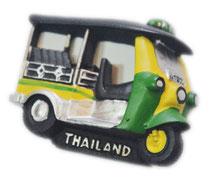 【ハンドメイド】TUKTUK・トゥクトゥクト 3D 立体 タイランド マグネット 【3D TUKTUK  Handmade Magnet】