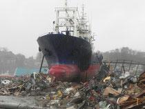 三陸の津波被害