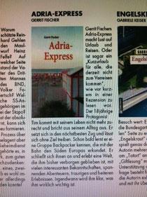 """Buchempfehlung im Magazin """"Piste"""""""