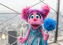 Sesame Street's Abby Cadabby helped light the Empire State Building blue earlier this week in honor of World Autism Awareness Day. The nonprofit behind Sesame Street is launching a new initiative to help educate the public about the developmental disorder
