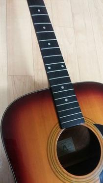 ギターの弦交換