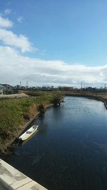 大垣市の菅野川